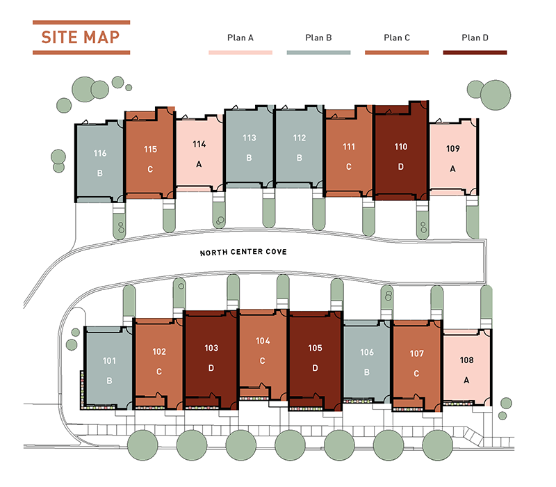 Site Map for North 320